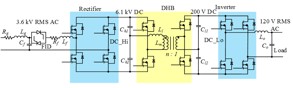 solid state transformer  sst  freedm architecture